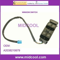 High Quality Window Switch For Mercedes W203 Window Switch Driver Door Panel Black A2038210679, 2038200110