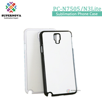 Alibaba Customized Smart Phone Case, Heat Press Mobile Phone Cover for Samsung N7505/N3 Lite