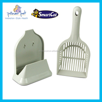 Pet cleaning products cat plastic scoop and holder