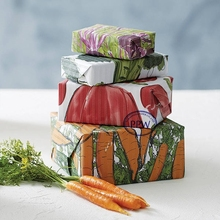 creative design vegetables printed embossed Gift Wrapping Paper