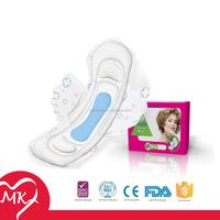 Regular/Super/Overnight/Maxi Ultra thin high absorbent soft waterproof sanitary napkin sanirary pads with wings making machine