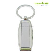 high quality custom metal name keychain with irregular shape