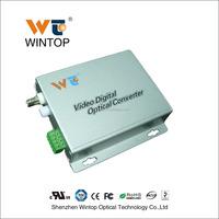 Made in China 1 ch video converter bnc to fiber video converter video to ip converter