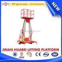 factory direct sale aluminum lift platform hydraulic ladder