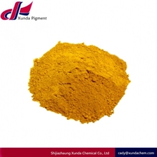 Easy Dispersible Paint Iron oxide Yellow 313 for roofing tile coloring