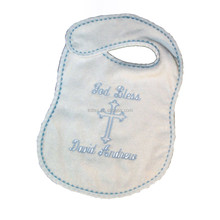 100% Cotton Embroidery Muslin Baby Bupry Bibs