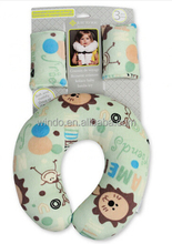 baby pillows infant,baby pillow plastic bag mesh fabric,u-shape baby pillow