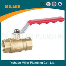ML-2019 high pressure 1/2 inch ball valve with brass colour