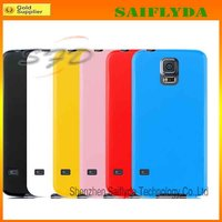 Hot Selling TPU Back Cas for Samsung e S5 TPU Back Cover Case