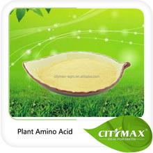 Organic N fertilizer Based on Hhydrolyzed Proteins, Amino Acids