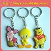 Factory customized soft pvc keychain /Cartoon key tag