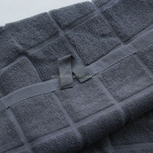 100% Cotton Terry Jacquard Woven Hanging Hand Towel