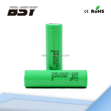 Good news,samsung 25R 18650 li ion battery d cell with best prices in alibaba