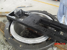 OD Clamping Portable Flange Refacing Machine Flange Facer