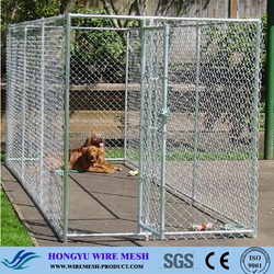 Factory Direct Sale New design unique galvanized Steel cheap Chain Link Dog Kennel / Dog Runs