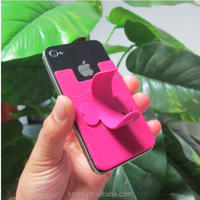 silicone phone stander /Sticker Silicone Phone Stand/universal car holder for smartphone