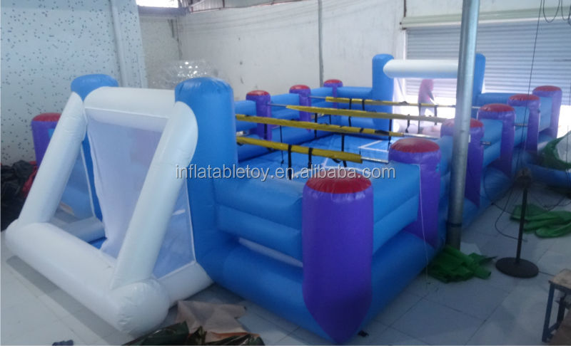2014 hot sale inflatable Football Pitch/new inflatable soccer field for sale