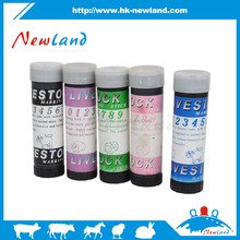 NL622 hot sales new type animal identifications marking crayon for animal paint