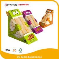 triangle paper sandwich box