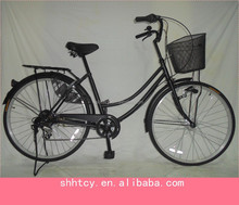 26 inch steel frame city bicycle/bike/cycling 6 speed
