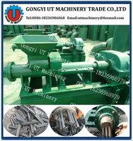 Small capacity coal bar briquette machine/ Cheap price coal briquette extruder making machine (skype:orion.chai)