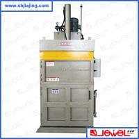 CE certificate more than 20 years factory supply high quality vertical carton hydraulic baling machine price