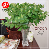 140160 china manufacturer wholesale decorating artificial leaf important of ornamental plant
