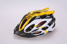 PC bicycle helmet for adult with black visor cycling helmet