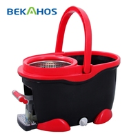 360 Cleaning Mop Household Services Tool with Plastic Mop Bucket 360 Magic Mop New Product