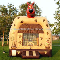 XDC158 inflatable scooby doo bounce house