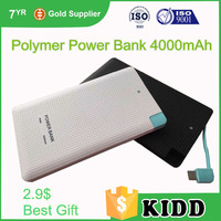 best business gift customized high quality supper power bank genuine 5000mah external mobile powerbank