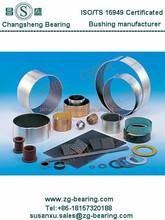 self lubricating bushings PTFE dry sliding plain bearing composite bushing