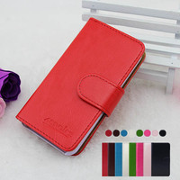 Wholesale High Quality Stand Wallet Flip Leather Case for LG Cookie Fresh GS290