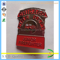 Logo Printed Promotional Enamel Lapel Badge Pins