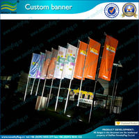 China flag manufacturer with machine printing