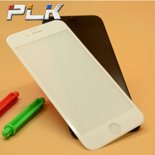 Ultra Clear tempered glass full cover screen protector for iphone 6