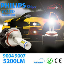 Qeedon easy install car light up motion activated led bracelet head lights auto uvc