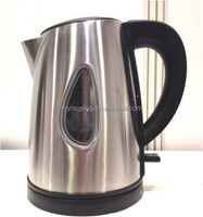 1 litre stainless steel electric travel kettle 4 Cups cool touch handle design GS,CE,CB,ROHS,LFGB