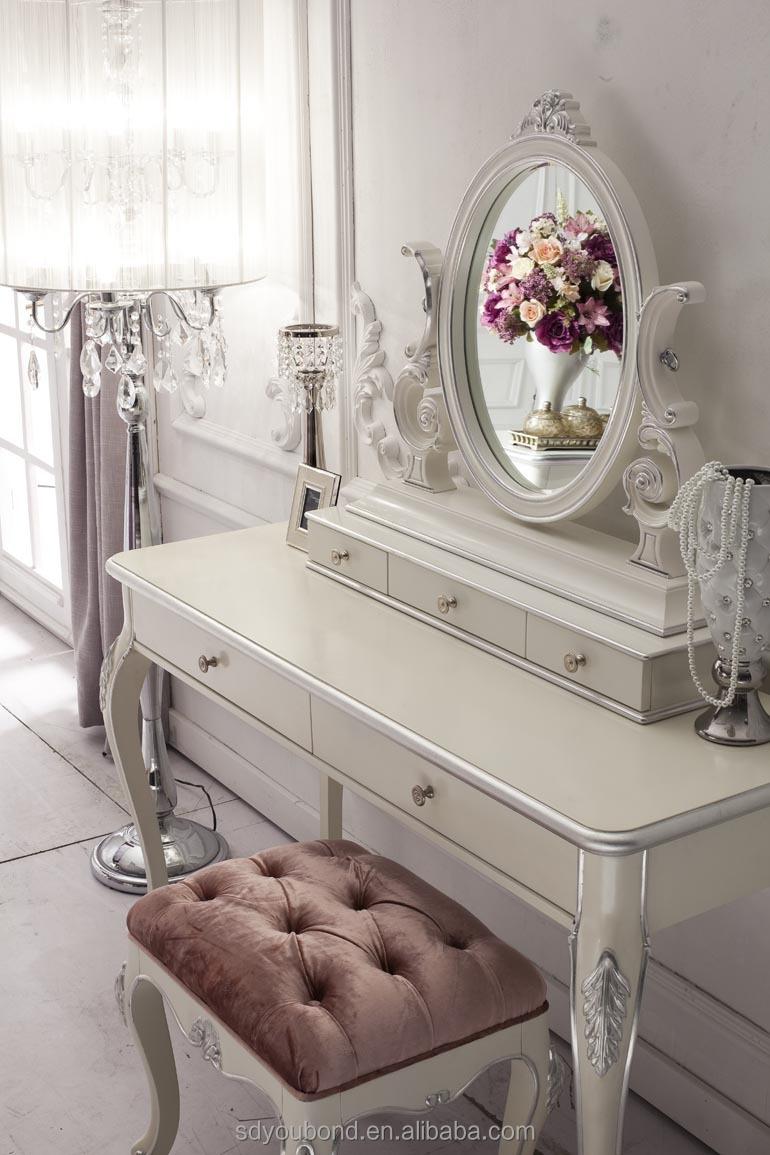 romantische whtie yb franse stijl slaapkamer set meubilair voor, Meubels Ideeën