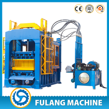 QT6-15 alibaba india concrete block shaping machine with PLC