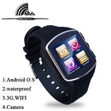 2015 New Metal Casing Bluetooth Smartwatch Phone, Android 4.4 Water Resistant Cheap Watch Phone