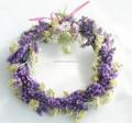 Falsa de frutas e buterfly decoratived pvc natal grinalda / natural da grinalda da flor
