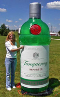 inflatable replica for sale/Inflatable tanqueray
