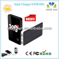 2012 LED 10W AC Cellphone Solar Charger Best Promotional Giveaway for Laptop