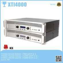 Different from crown XTI4000 digital sound processor 5.1 500watt to 1600watt amplifier
