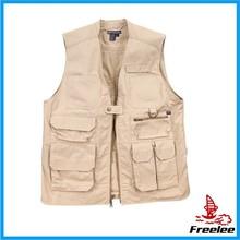 Cotton vest,safari vest men