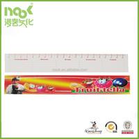 free samples customize plastic transparent advertising rulers