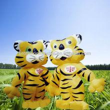 OEM Vivid Inflatable Tiger Cartoon