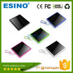 15000mah solar battery backup charger, solar mobile panel charger for emergency