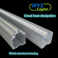 36w 0.6m Linear Led Inground Tube Light Fixture Recessed With Daylight sensor